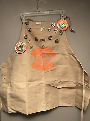Home Depot University Apron-Tan (Rare)