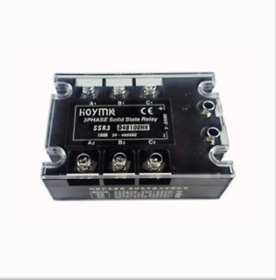 Hoymk SSR3-D48100HK 100A 3 / Single Phase Controlled Solid State Relay DC-AC SSR