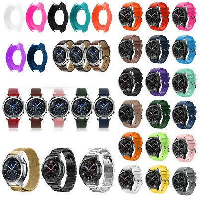 For Samsung Gear S3 Classic / Frontier Smart Watch Band Wrist Strap Silicone