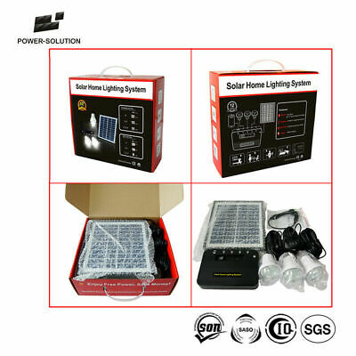 Solar Indoor Lights DIY x 2 for Shed or Garage - 6 lights Free Post Aust Stock !