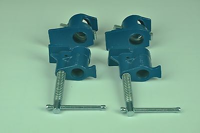 """Pipe Clamp 3/4"""" 2 Sets - Woodworking Vice"""