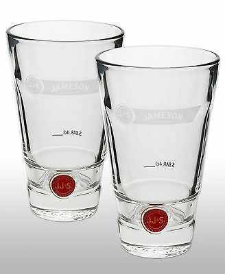 Jameson Whiskey Tumbler Glass X 2