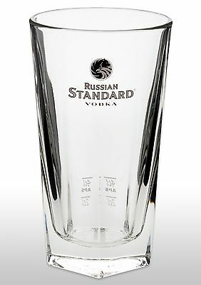 Russian Standard Vodka Glass New