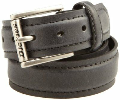 Dickies Big Boys' Casual Belt With Stitching, Black, Large