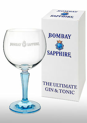 Bombay Sapphire Gin Balloon Glass In Gift Box