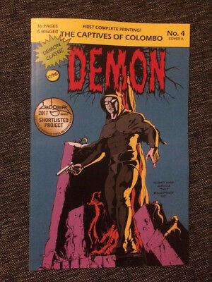 The Demon #4 Modern Phantom Homage cover A #4