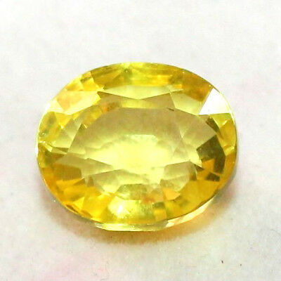 10 Ct Lab-Created-Yellow-Sapphire-Nice-Quality-Oval-Shaped-Loose-Gemstone
