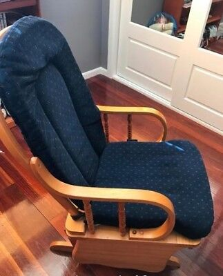 Swallow brand glider/rocking nursery/feeding chair