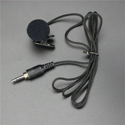 3.5mm Jack Clip-on Lapel Mini Lavalier Microphone Mic For Iphone Smartphone