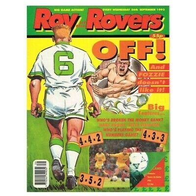 Roy of the Rovers Comic September 26 1992 MBox2797 Off! And Fozzie doesn't like