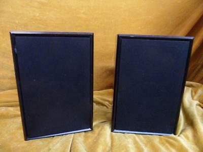 Royd eden loudspeakers , pair in black