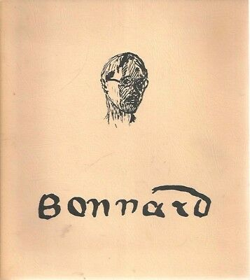 mm - Vintage 1972 PIERRE BONNARD Drawings Exhibition Catalog - Including Nude