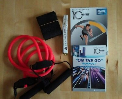 TONY HORTON 10 MINUTES TRAINER DVD KIT BY BEACH BODY WorkOut Flat Abs