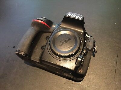 Used Nikon D810 36.3 MP Digital SLR Black body only Must Sell