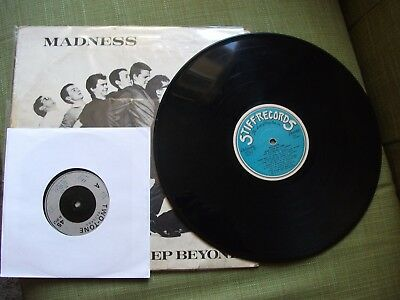 """madness-one step beyond lp,+ the specials -rat race 7"""",mod,skinhead,2 tone,"""