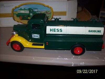 Vintage 1980 Hess Gasoline Truck With Box