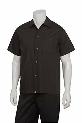 Chef Works Men's Utility Cook Shirt (KCBL) New