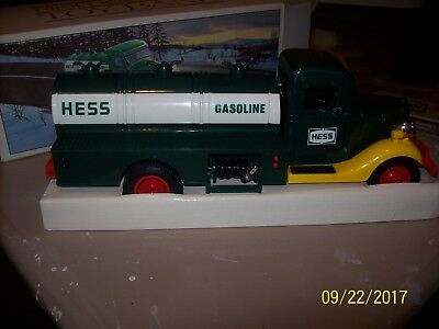 Vintage Hess Gasoline Truck Bank With Box 1980