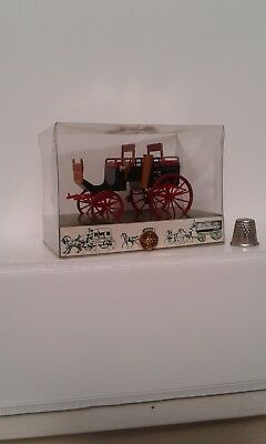 vintage dicast brumm Italy dog cart carriage 1/43 scale