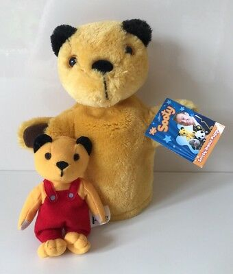 Sooty And Sweep, Sooty Hand Puppet With Tags & Sooty Plush Soft Toy Bundle