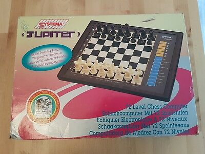 Jupiter Chess Computer 100% Complete and Working - Vintage