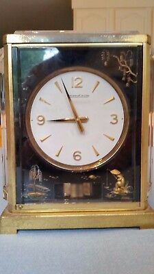 Atmos Chinoise Mantle Clock