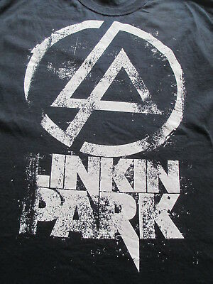 Linkin Park Black White T Shirt Size L Large XL X-Large