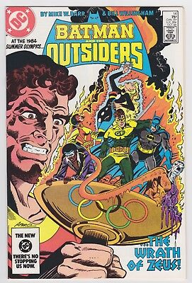 BATMAN and the OUTSIDERS 14 NM-MINT Very High Grade