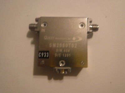 QUEST Microwave SM2060T02 Isolator 2-6GHz