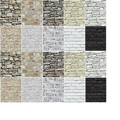 Arthouse Wallpaper - Brick, Rustic Stone Effect, Morrocan Wall, Cornish Stone