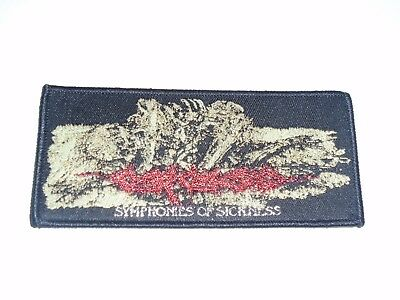 Carcass Symphonies Of Sickness Woven Patch