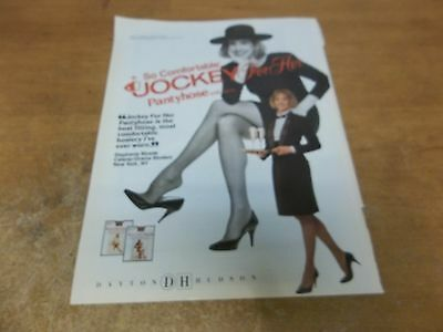 Jockey Pantyhose ad clipping #SH