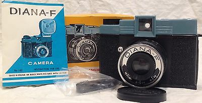 Vintage New With Box Diana F Edition 120 Film Camera Synchronization