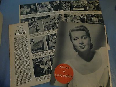 Lana Turner movielife   clipping #HG