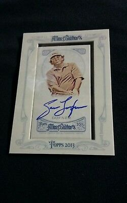 Jason Dufner 2013 Allen and Ginter Auto  card