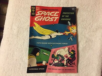 Space Ghost #1 • Hanna-Barbera 1966 • Key Issue Looks Nice