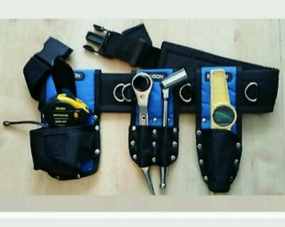 Scaffolding Nylon Tools Belt Set  with Double Frogs level holder Tap holder