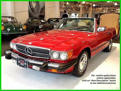 1987 Mercedes-Benz 500-Series 2 Dr Convertible Mechanically-sound, Rust-free, Top-end engine refresh 10k miles ago