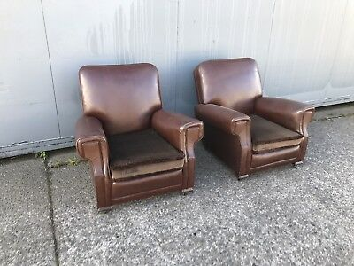 Antique Pair Of Arm Chairs