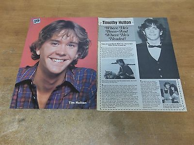 Timothy Hutton pinup   clipping #707