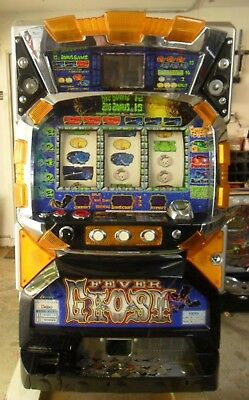 Pachislo Fever Ghost Video Slot Machine / 200 Tokens / 285 Pg Manual