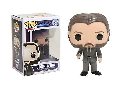 Funko Pop Movies: John Wick Chapter 2 - John Wick Vinyl Figure Item #12535