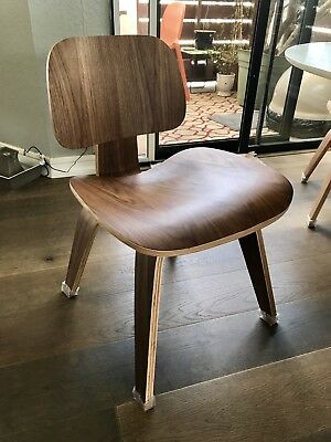 4 HERMAN MILLER style Plywood Lounge or Dining Chairs, Eames Era Style