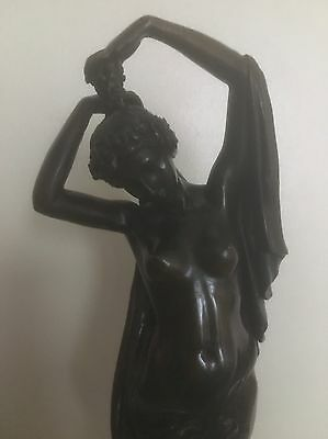 BRONZE OF A LADY 37.5cm HEIGHT