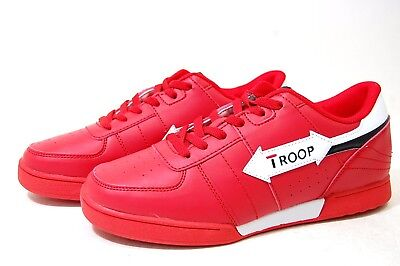 World of Troop Crown Classic Red Leather 1CM00075-602 shoes Men