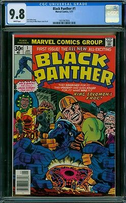 Black Panther 1 CGC 9.8 - White Pages