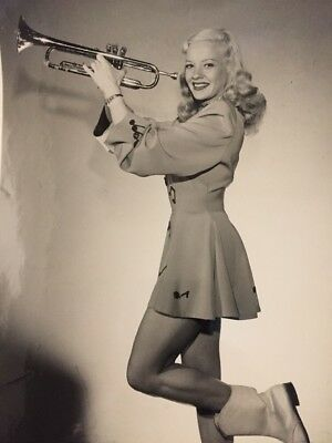"""The Trumpeter"" Mary Hartline, Personalized Autograph To Buyer"