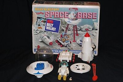 Vintage Eldon Billy Blastoff Space Base Set W/box  Parts & Pieces Very Rare