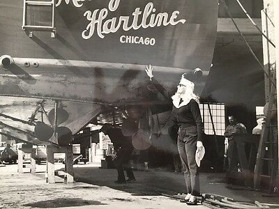 "The First ""MARY HARTLINE, CHICAGO "". Personally Autographed to buyer."