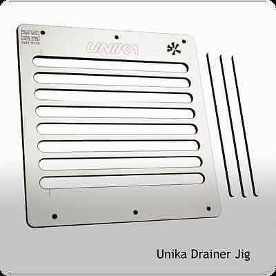 Unika Hot Rod / Drainer  Jig - Router Worktop Jig for Drainage Grooves & Hotrods